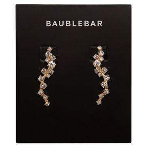 Gorgeous, Ear Climber Diamond Studded Earrings